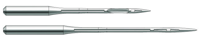 Швейная игла Groz-Beckert B27 №65 для оверлоков