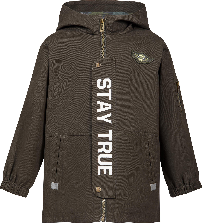 Куртка Barkito «Парка» для мальчика Barkito, хаки