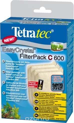 Фильтрующие картриджи с углем Tetra EC 600 С для внутреннего фильтра EasyCrystal 600 3 шт.