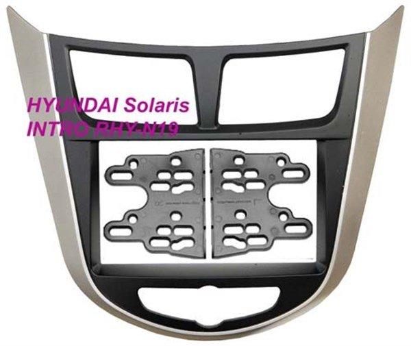 Переходная рамка Intro RHY-N19 (Hyundai Solaris 2011+)