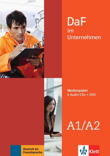 "Andreea Farmache, Regine Grosser, Claudia Hanke, Viktoria Ilse, Klaus F. Mautsch, Ilse Sander, Udo Tellmann ""DaF im Unternehmen A1-A2 Medienpaket (4 Audio-CDs + DVD)"""