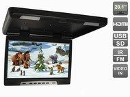 """Потолочный автомобильный монитор 20,1"""" с HDMI и встроенным медиаплеером AVIS Electronics AVS2020MPP"""