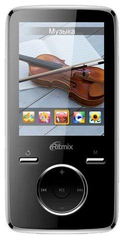 Плеер MP3 Ritmix RF-7650 Black 8Gb, фотокамера