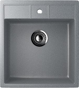 """кухонные мойки из искусственного мрамора Мойка кухонная Ulgran U-406-309 темно-серый"""""""