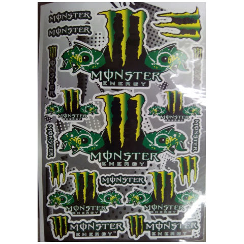 Наклейки LP ENERGY MONSTER Fish