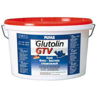 PUFAS Обойный клей Glutolin GTV Флиз - Текстиль специальный - морозостойкий 10л