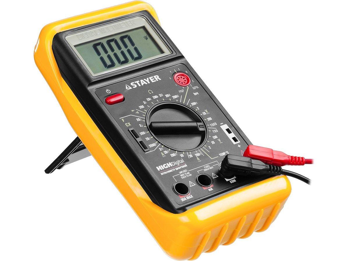 Мультиметр цифровой Stayer EXPERT HIGHDigital 45320-T