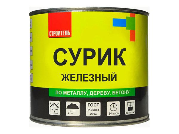 краска масляная ма-15 строитель сурик железный 2,7кг