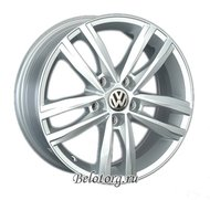 Диск Replica VW141 7x16/5x112 D57.1 ET42 Silver - фото 1