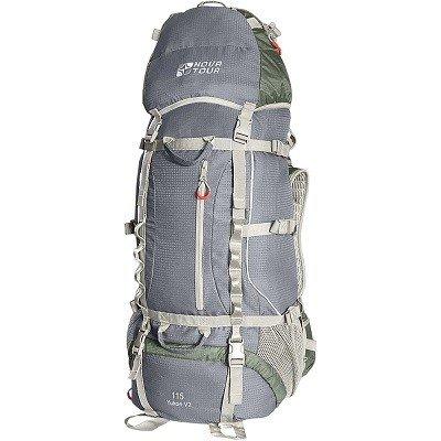 Рюкзак экспедиционный NOVA TOUR Юкон 115 V2 (Серый/Олива)