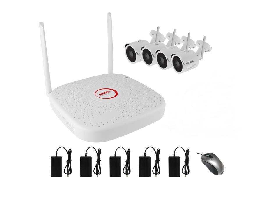 Longse Electronics Комплект IP видеонаблюдения WiFi 041MP