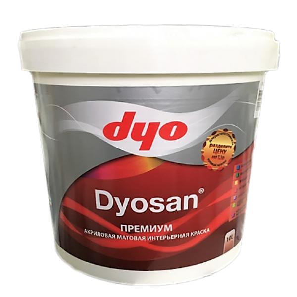 Dyo Dyosan - Интерьерная водоэмульсионная премиальная акриловая краска