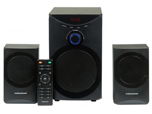 Компьютерная акустика NAKATOMI GS-25, черная