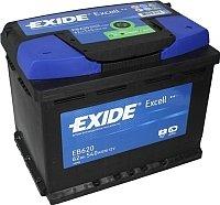 Автомобильный аккумулятор Exide Excell EB620 (62 А/ч)