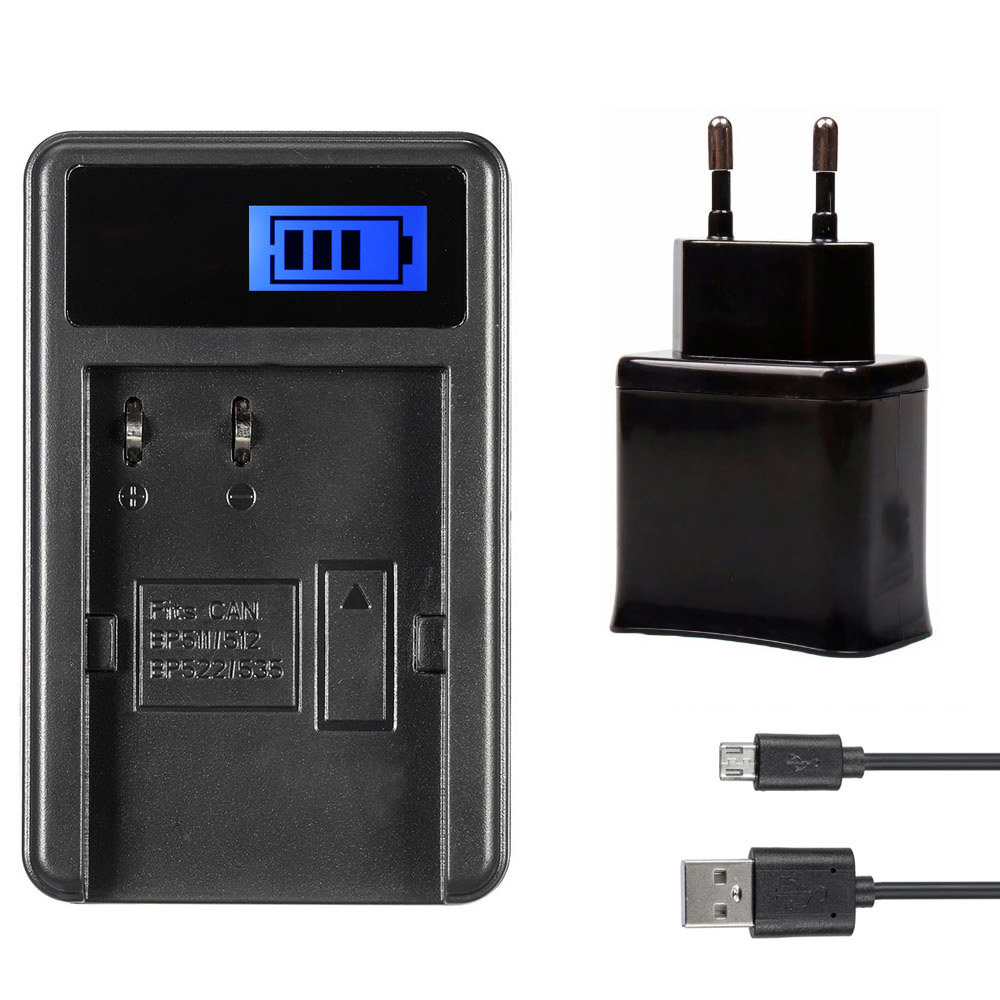 Зарядное Устройство BP-511 USB с адаптером для Canon 30D 40D 50D