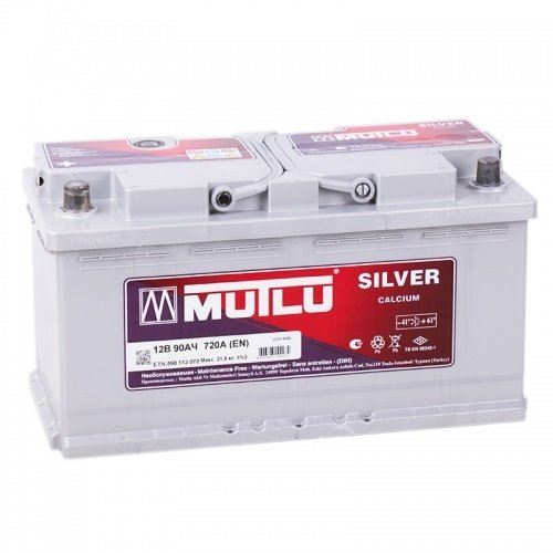 Аккумулятор MUTLU Calcium Silver L5.90.072.B прямая полярность 90 Ач