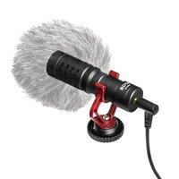 Универсальный кардиоидный микрофон BOYA BY-MM1 Совместим со смартфонами, DSLR-камерами, компактными видеокамерами, ПК