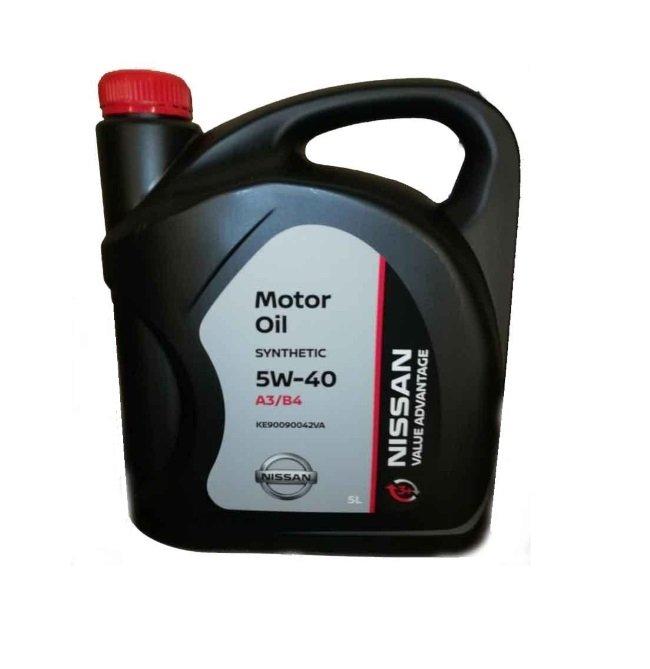 Моторное масло NISSAN VA 5W-40 5 л
