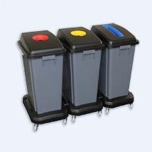 Набор корзин для сортировки отходов Merida KJS706