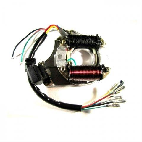 Статор генератора TB 50/70/90/110/125cc двухполюсная