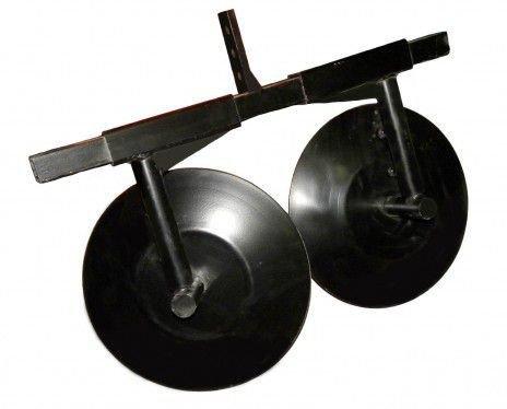 Окучник дисковый ТИП 4 (раздвижной на подшипниках) для мотоблока