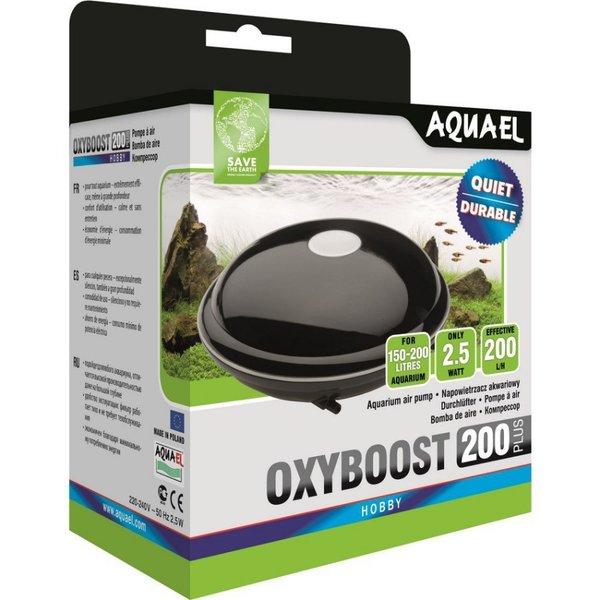 """Компрессор Aquael """"OXYBOOST 200 plus"""" двухканальный, нерегулируемый (150-200 л)"""
