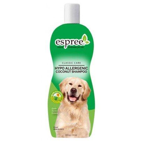 Шампунь Espree гипоаллергенный с кокосом «Без слез», для собак и кошек CLC Hypo-Allergenic Coconut Shampoo