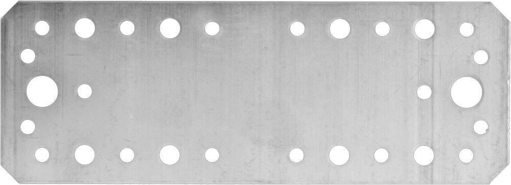 Крепежная пластина 180х65 мм 20 шт Зубр мастер 310235-180-65