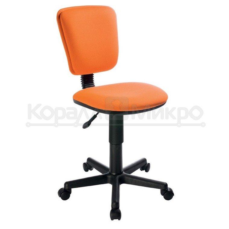 Стул офисный Бюрократ, CH-204NX/26-291 (оранжевый 26-291, без подлокотников) (з)
