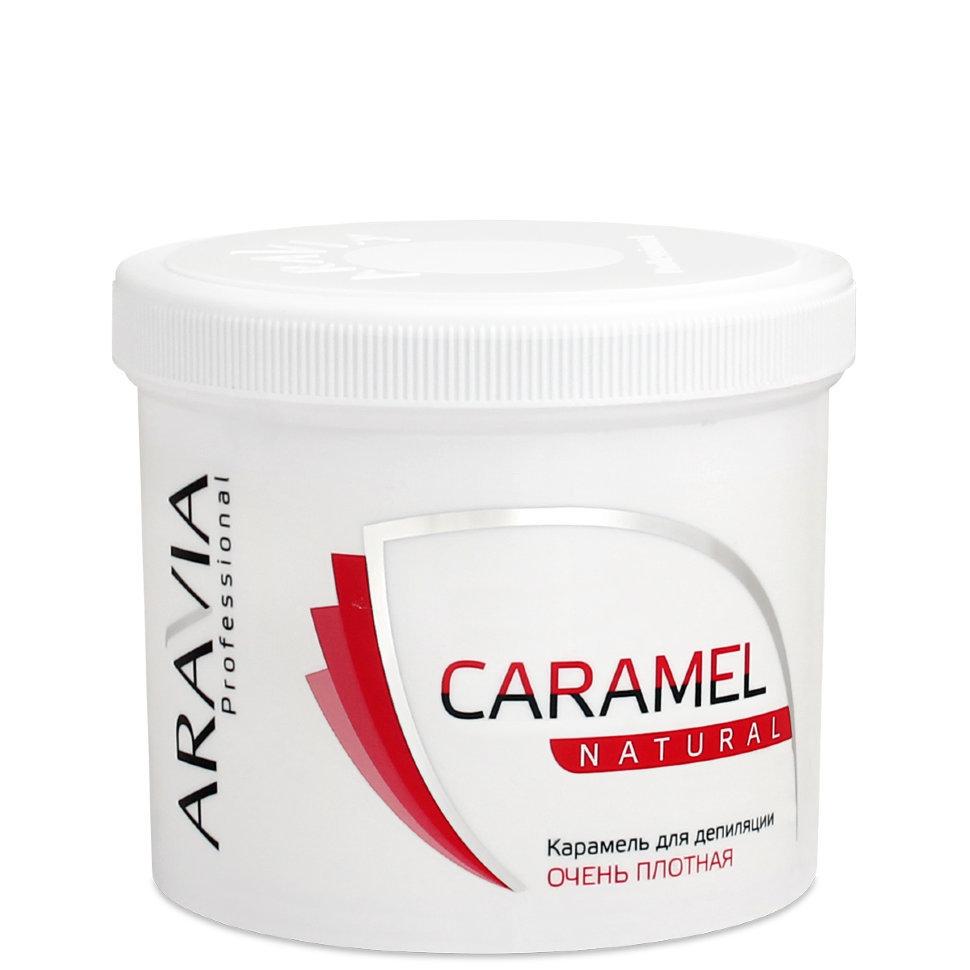 Карамель для депиляции Aravia натуральная очень плотная