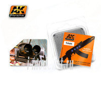 AK-222 AK Interactive Линзы прозрачные OPTIC COLOUR 1mm