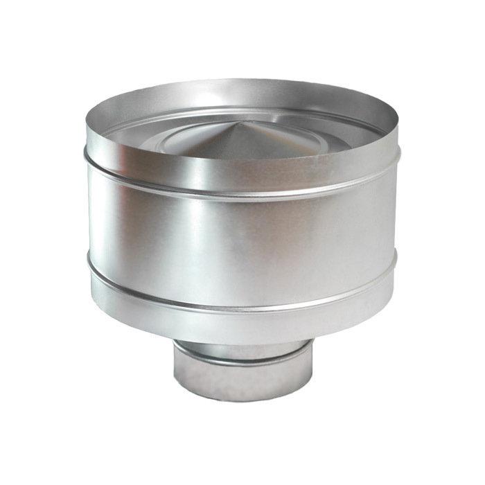 Левша Дефлектор крышный D 160 оцинкованная сталь