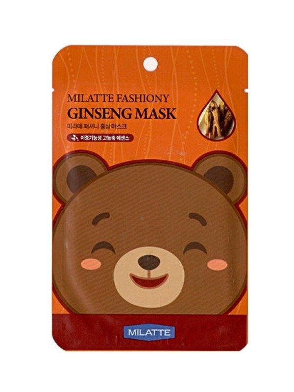 Маски тканевые Milatte fashiony mask sheet
