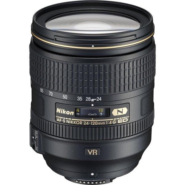 Объектив NIKON 24-120 mm f/4.0G ED VR II AF-S Nikkor