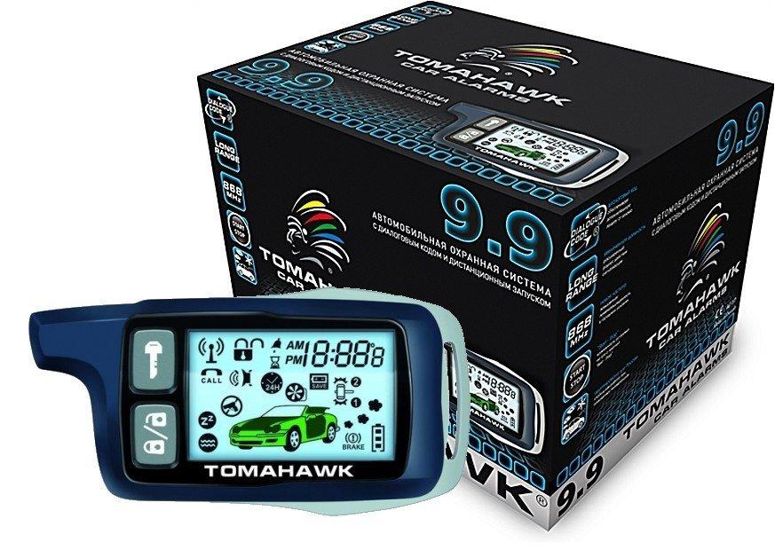 Автосигнализация Tomahawk 9.9 автозапуск