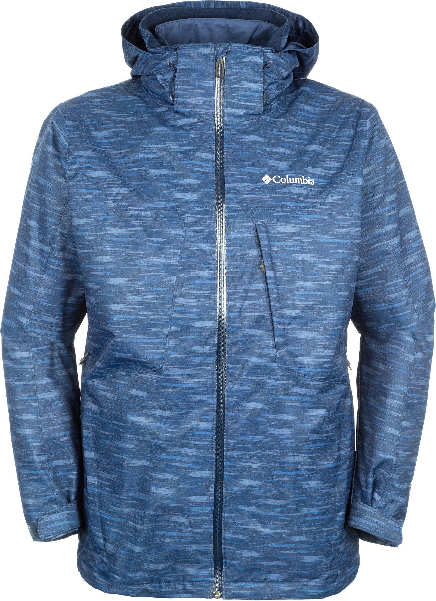 Куртка 3 в 1 мужская Columbia Whirlibird