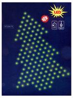Новогодняя электрогирлянда внутреняя сетка SHLights «Ёлочка», 240 ламп, 1,65х2,2 м