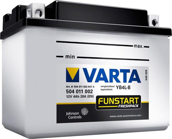 Аккумулятор для мототехники Varta Funstart FP 19Ah 519 014 018