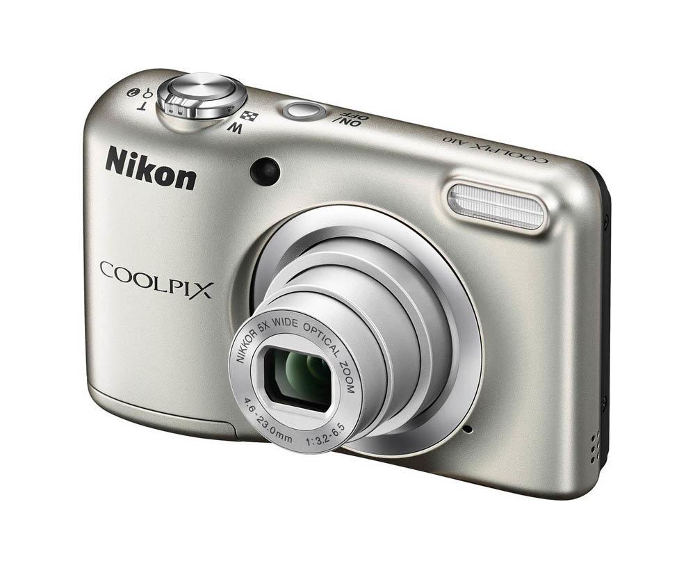 Компактный фотоаппарат Nikon Coolpix A10 (Silver)