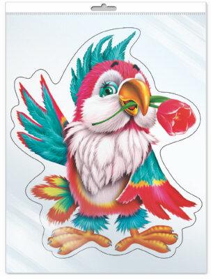 Плакат Творческий Центр СФЕРА Попугай
