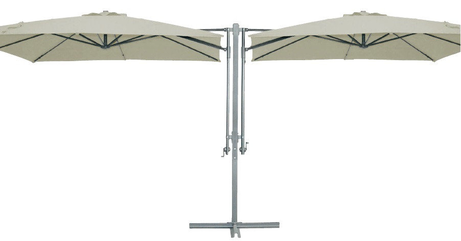 Зонт квадратный двойной