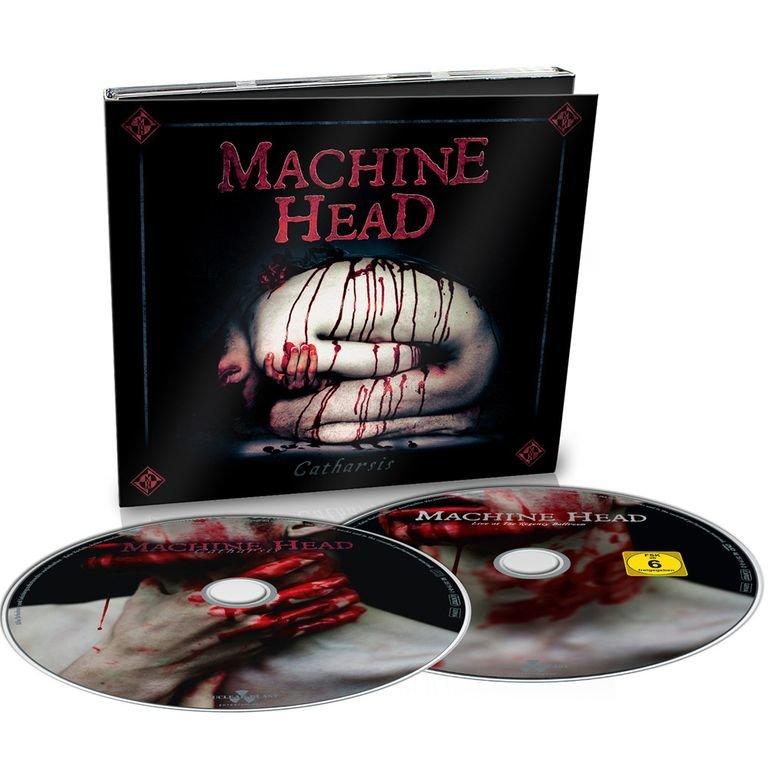 MACHINE HEAD Catharsis CD + DVD Digi