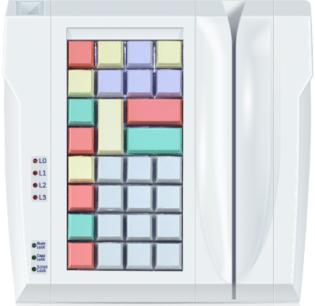 Программируемая POS-клавиатура POSUA LPOS –032-M12