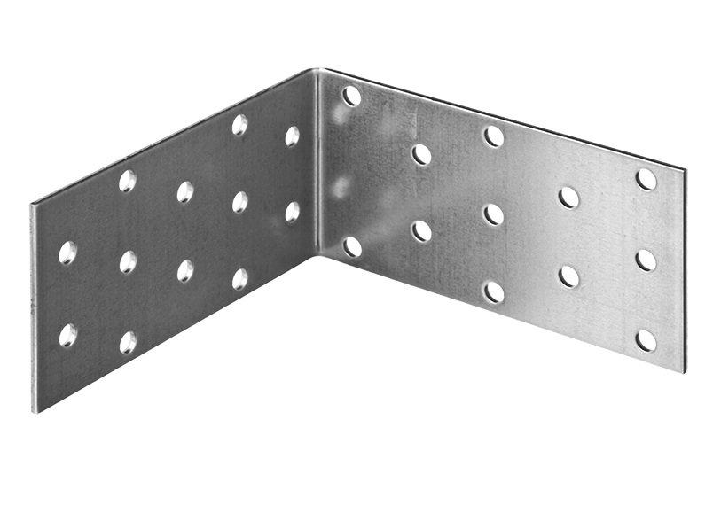 Крепежный угол, равносторонний, 50x100x100 мм, 50 штук