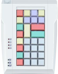 Программируемая POS-клавиатура POSUA LPOS –032-Mxx