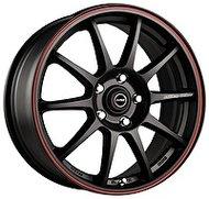 Racing Wheels H-422 7x16 5x108 ET 40 Dia 67.1 BK-LRD - фото 1