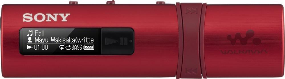 Плеер Sony NWZ-B183F (красный)
