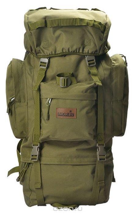 """Рюкзак тактический Norfin """"Tactica 65 NF"""", цвет: зеленый, 65 л"""