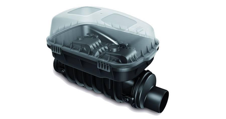 Люк KESSEL Controlfix для промывки или очистки сточных вод 200мм