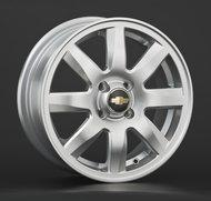 Колесные диски Replica Chevrolet GM15 6х15 4/114,3 ET44 56,6 silver - фото 1